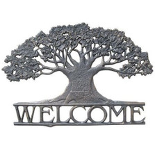 Tree Welcome Sign | Painted Sky | PSWS-TR