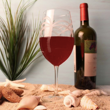 Palm Tree AP Wine Glass Set of 4 | Rolf Glass | 203263