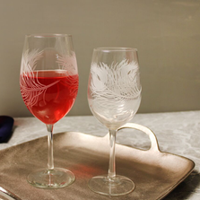 Peacock AP Large Wine Glass Set of 4 | Rolf Glass | 204260