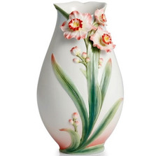 Daffodil Vase | FZ02301 | Franz Porcelain Collection -2