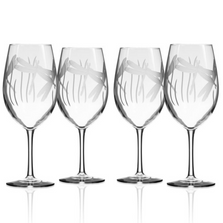 Dragonfly All Purpose Wine Glass Set of 4 | Rolf Glass | 206264