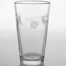 Icy Pine Beer Glass Set of 4 | Rolf Glass | ROL207070