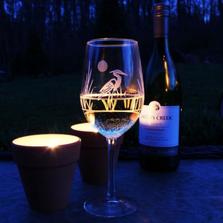 Heron White Wine Glass Set of 4 | Rolf Glass | 219424