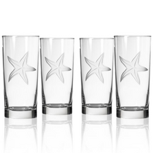 Starfish Cooler Set of 4 | Rolf Glass | 400013