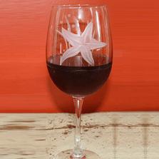 Starfish Balloon Wine Glass Set of 4 | Rolf Glass | ROL400259 -2