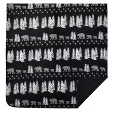 Black Bear Throw Blanket | Denali | DHC16101872