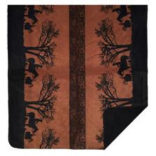 Sunset Cowboy Throw Blanket | Denali | DHC16122472