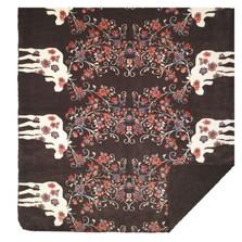 Moose Blossom Brown Throw Blanket | Denali | DHC16122772