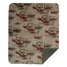 Pacific Five Fish Throw Blanket | Denali | DHC16125372