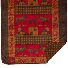 Moose Bear Throw Blanket | Denali | DHC16125972 -2