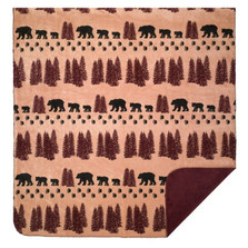 Bear Wheat Throw Blanket | Denali | DHC16127172