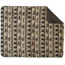 Deer Haven Microplush Throw | Denali | DHC16129472
