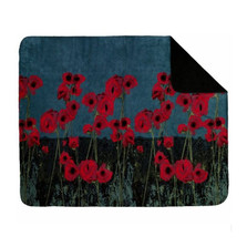 Poppies Throw Blanket | Denali | DHC16142172