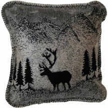 Black Forest Friends Deer Throw Pillow | Denali | DHC35001118