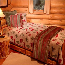 Moose Camp King Bedspread | Denali | DHC51206889-King