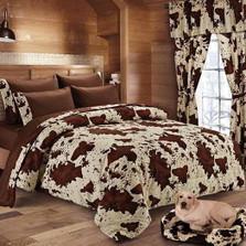 Rodeo Cow Print Comforter | DUKDC1018-8