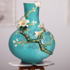 Van Gogh Almond Flower Porcelain Vase | FZ02405 | Franz Porcelain Collection
