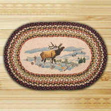 Elk Oval Braided Rug | Capitol Earth Rugs | CEROP-319
