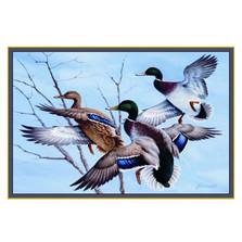 Mallard Duck Area Rug | Custom Printed Rugs | CPR19