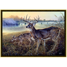 Deer Area Rug Boys Club | Custom Printed Rugs | CPR35