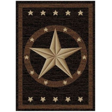 Star Area Rug Western - Hearthside Collection | Mayberry Rug | MBRHS3683