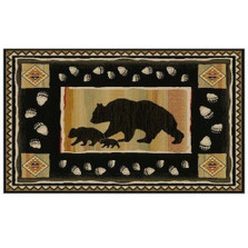 Bear Area Rug Take the Lead - Hearthside Collection | Mayberry Rug | MBRHS7783