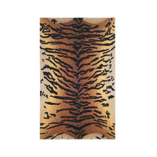 Tiger Print 9' x 12' Wool Area Rug | Trans Ocean | TOGSEV92964419