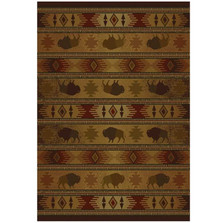 Buffalo Area Rug Tatonka Lodge | United Weavers | UW530-52243