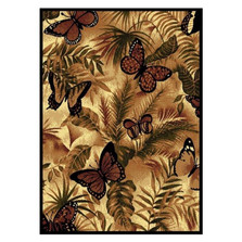 Butterfly Jungle Area Rug | United Weavers | UW910-01330