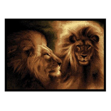 Lion Area Rug | United Weavers | UW910-02250