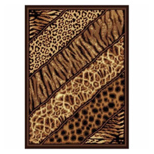 Slanted Safari Area Rug | United Weavers | UW910-03150