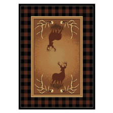 Deer Area Rug Antler Buck | United Weavers | UW910-05050