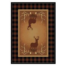 Deer Area Rug Antler Buck   United Weavers   UW910-05050
