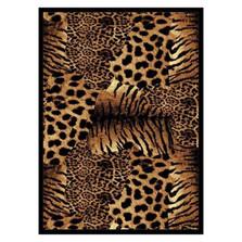 Cheetah Area Rug Painted Skins   United Weavers   UW910-05550