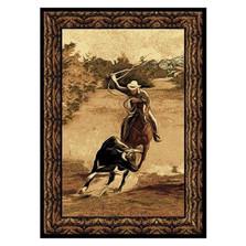 Rodeo Cowboy Roper Area Rug | United Weavers | UW910-05650