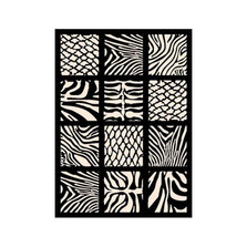 Zebra Black Area Rug Cubic | United Weavers | UW910-30270