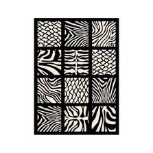 Zebra Black Area Rug Cubic | United Weavers | UW910-30270