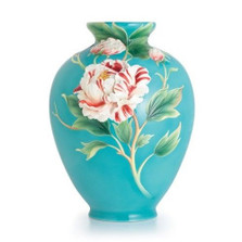 Peony Limited Edition Porcelain Vase Franz  | FZ02487 | Franz Porcelain Collection