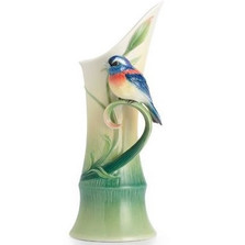 Peace and Harmony Bamboo Porcelain Vase | FZ02518 | Franz Porcelain Collection -2