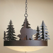 Bear Trailblazer Chandelier | Colorado Dallas | CDC2212