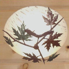 Maple Leaf Ceiling Light | Colorado Dallas | CDCL31207FR