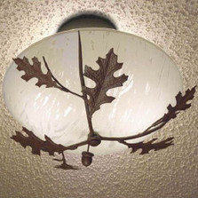 Oak Leaf & Acorn Ceiling Light | Colorado Dallas | CDCL31209