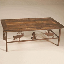 Elk Barn Wood Coffee Table | Colorado Dallas | CDCTBW1113D11