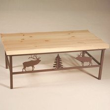 Elk Pine Top Coffee Table | Colorado Dallas | CDCTPT1113D11