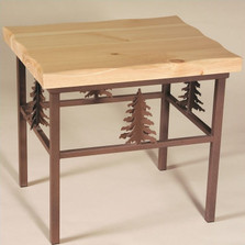 Pine Tree End Table | Colorado Dallas | CDETPT13D