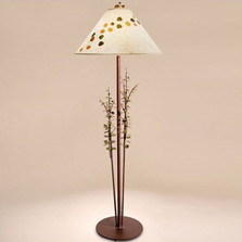 Aspen Leaves Floor Lamp | Colorado Dallas | CDFL03SH215903