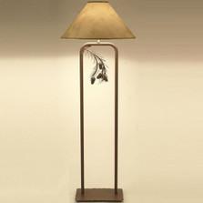 Pinecone Fortress Floor Lamp   Colorado Dallas   CDFLF01SH2159