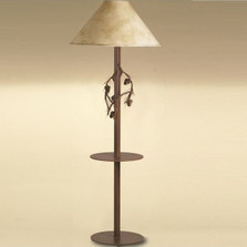 Pine Branch Floor Lamp with Table | Colorado Dallas | CDFLT01SH2159