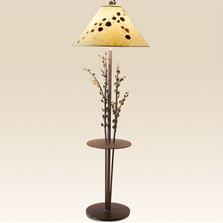 Aspen Floor Lamp with Table | Colorado Dallas | CDFLT03SH215903