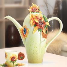 Van Gogh Sunflowers Teapot | FZ02566 | Franz Porcelain Collection